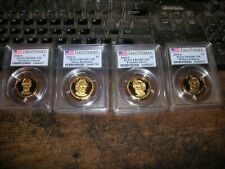 2010-S $1 Proof Presidential Dollar Set Graded NGC PF69 Ultra Cameo