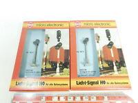 AR76-0,5# 2x Brawa H0/AC/DC 5823 Licht-Signal/Vorsignal, 14-16 Volt, NEUW+OVP