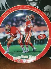 Joe Montana King of Comebacks Plate