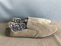 BNWT Mens Teenage Boys Size 8 Rivers Doghouse Brown Slip On Style Casual Shoes