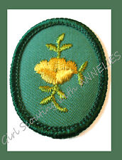 BUTTERCUP Girl Scout TROOP CREST Discontinued 1989, New Old Stock Multi=1 Ship