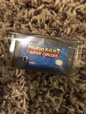 Gameboy Advance Mario Kart Super Circuit