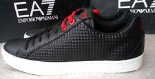 Emporio Armani EA7 men's Prism Low U sneakers size 7.5UK(41 1/3EU)