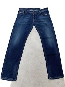 Diesel Mens Jeans W38 L34 Waykee Regular Straight