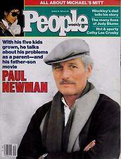 People Magazine March 19, 1984 Paul Newman Michael Jackson Hinckley NO LABEL