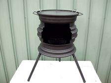 SHAFTS POT BELLY FIRE PIT/BBQ ( POSTAGE AVAILABLE )