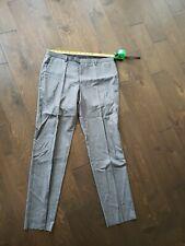 HUGO BOSS AG size 36x 32 gray unhemmed dress pants