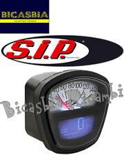 7569 CONTACHILOMETRI DIGITALE SIP 2.0 NERO BIANCO LAMBRETTA 125 150 200 SX TV