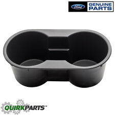 2004-2014 Ford F-150 Front Center Console Dual Black Cup Holder Insert OEM