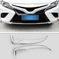 Front Bumper Front Lip Corner Decoration Cover Trim For Toyota Camry 2018