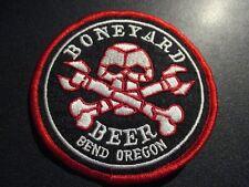 BONEYARD Bend Oregon hop venom rpa PATCH iron on craft beer brewery brewing