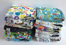 MCN Baby Cloth Nappies Bamboo Charcoal Nappy New Reusable One Size Inserts Boy 6