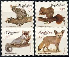 Zimbabwe 1991 SG#800-3 Small Mammals MNH Set #D50849