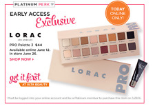 new LORAC PRO PALETTE 3 with MINI BEHIND THE SCENES EYE PRIMER 100% AUTHENTIC