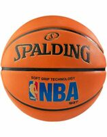 Spalding NBA Logoman SGT Soft Grip Rubber Cover Max Control Sponge Basketball