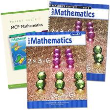 MCP Mathematics Homeschool SET - Homeschooling Curriculum Level C - Grade 3