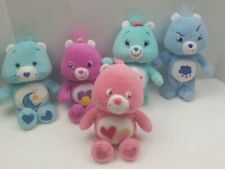 Lot Of 5 Care Bears Vintage Plush Bearspre-Owned