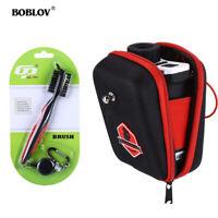 BOBLOV Golf Rangefinder Case Carry Bag EVA Hard Cover Pouch With Golf Club Brush