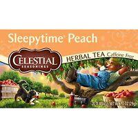 Celestial Seasonings Herbal Tea, Sleepy Time Peach