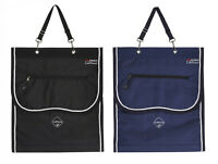 LeMieux Luxury ProStable BANDAGE TIDY BAG & Boot Pockets Storage BAG Black/Navy