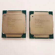 2x CPU Intel Xeon E5-2650V3, 2.3GHz Excellent état,10 cores,paire de processeurs