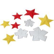 3x Sterne Cutting Dies Stencils Stanzschablone Embossing Scrapbooking