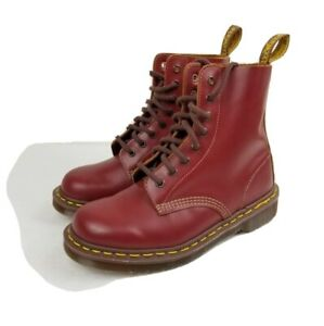 DR. MARTENS Women's 1460 VINTAGE Made in England Lace up boots US 7 Oxblood