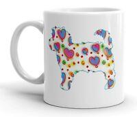 Cavapoo Dog Mug Cool Modern Heart Design Birthday Xmas Mothers Day Gift Mug