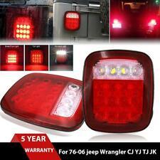 LED Tail Light Reverse Brake Turn Signal Rear Lamp For Jeep Wrangler TJ CJ 76-06