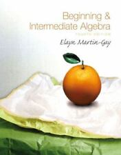 Beginning and Intermediate Algebra 4th Ed Textbook by Elayn Martin-Gay and disk