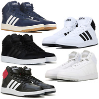 Adidas VS Hoops 2.0 High Top Sneakers Men's Lifestyle Comfy Shoes