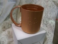 (G) STOLI  Stolichnaya Vodka Copper Moscow Mule Mug Brand New in box