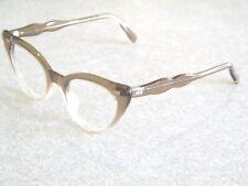 Vintage U.S.A Star Rivet Cateye Eyeglass Sunglass  Frames Only 46 22   5 3/4