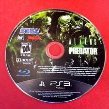 Alien vs. Predator (Sony PlayStation 3, 2010) Disc Only # 5218
