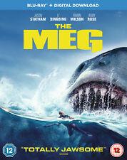 The Meg [2018] (Blu-ray) Jason Statham, Li BingBing, Rainn Wilson, Ruby Rose