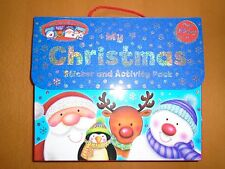 Christmas Sticker Activity Pack of 4 Books For Children Aged 3 And Up Brand New