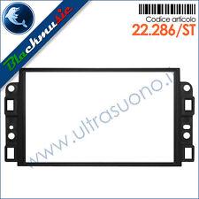 Mascherina supporto autoradio 2ISO-2DIN Chevrolet Aveo (T250 2006-2011)