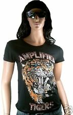 Amplified ultimate tatouage tiger's strass vip t-shirt L