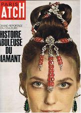 VINTAGE FRENCH MAGAZINE 1970 JANE BIRKIN ted kennedy cassius clay diamond