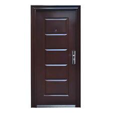 Haustür Tür Wohnungstür Sicherheitstür 96 x 205 cm BRAUN DIN Rechts