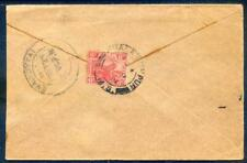 1929 cover from Kuala Lumpur to Southern India (2018/05/18/#07)