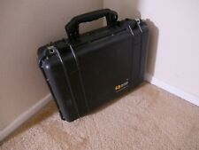 Pelican 1500 Carrying Case Black Rugged  DSLR CAMERA Protection+Foam