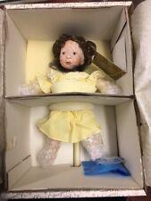 Franklin Mint Heirloom Days Of The Week Dolls Friday's Child By Sylvia Natterer