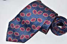 Men's Burberrys London Blue Silk Neck Tie Made in USA