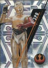 Star Wars 2016 High Tek Pattern 1 Form 2 Base Card SW-67 C-3PO