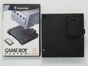 Nintendo GameCube Game Boy Player Black PAL + Start-Up Disc GameBoy FREE POST