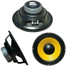 "MEDIO BASSO WOOFER WEB W-064 16,50 CM 165 MM 6,5"" 50 WATT RMS IMPEDENZA 4 OHM"