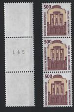 BRD 1679RI 3er Streifen Sehenswürdigkeiten Staatstheater Cottbus 1993 postfrisch