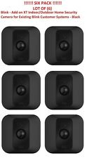 Lot Of 6 Blink Add on XT Home Security Cameras for Existing Blink Customers