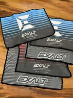"Five Various Exalt Paintball Player Size Microfiber Micro Fiber 12"" x 8"""